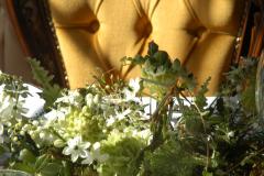 Luonnon teema valkoinen & vihreä